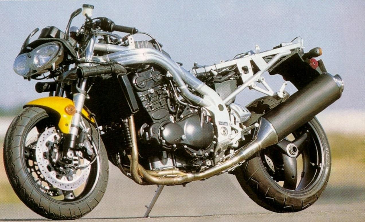 recensione Triumph Daytona 955i